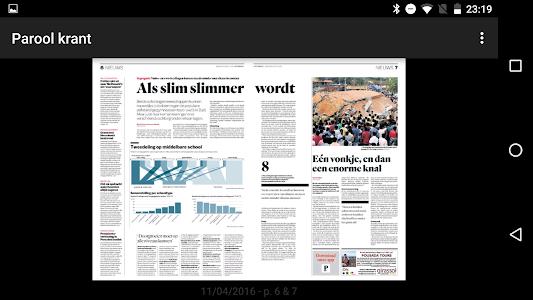 Het Parool digitale krant screenshot 1