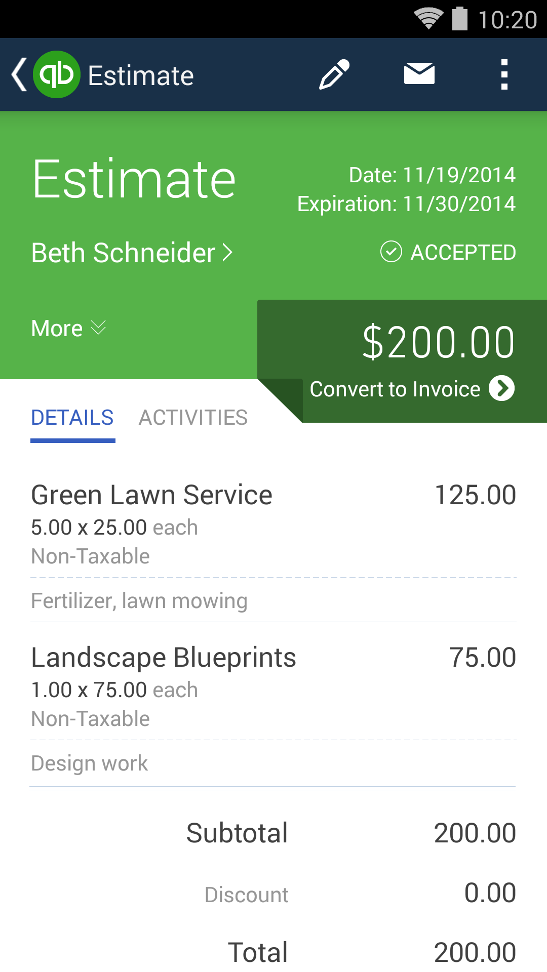 QuickBooks Accounting+Invoice screenshot #3