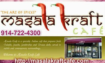 Photo: 914-722-4300 http://masalakraftcafe.com