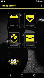 DoFitness Personal Coaching App - náhled
