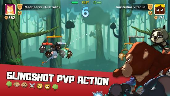 Critter Clash: Slingshot Battle - náhled