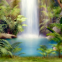 free waterfalls wallpapers icon