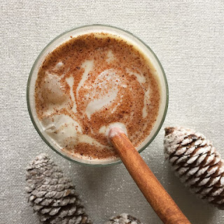 Dairy Free Eggnog with Coconut Cream
