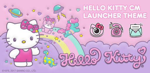 Hello Kitty Cm Launcher Theme Apps On Google Play