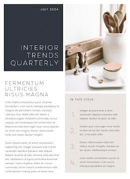 Quarterly Trends - Newsletter item