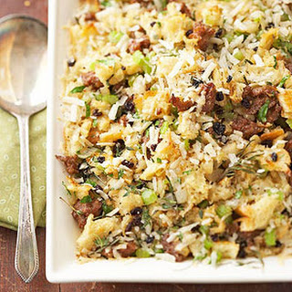 Parmesan Cheese and Italian Sausage Stuffing