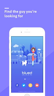Blued-Gay Social, Live, Chat- screenshot thumbnail
