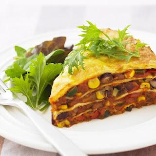 Vegetarian Mexican Lasagna
