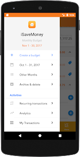 Expense-Monthly Budget Planner - náhled