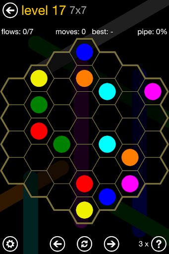 Flow Free: Hexes screenshot 4