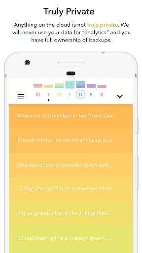 Android/PC/Windows用Writeaday - modern journaling アプリ (apk)無料ダウンロード screenshot