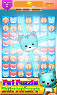 Pop Pet Puzzle Adventure Line screenshot