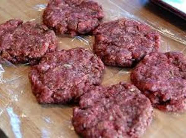 Flavorful Hamburger Patties Or Meatballs