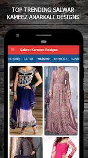 Salwar Kameez Anarkali Designs - náhled