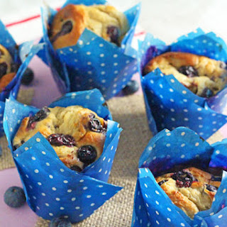 Healthy Blueberry Muffins With Crumb Topping Recipes