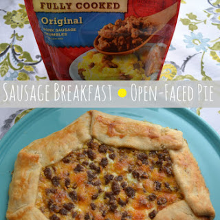 Open-Faced Sausage Breakfast Pie