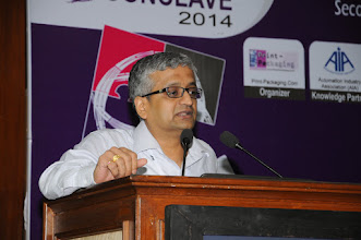 Photo: S. N. Venkatraman, Vice President Marketing, ITC Paperboard  Specialty Paper Div.