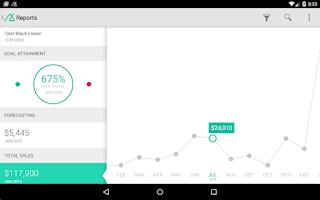 Screenshot of Base CRM