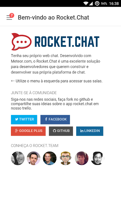 Rocket.Chat- screenshot