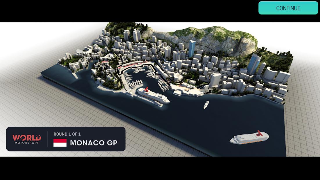 Motorsport Manager Mobile 3 Android App Screenshot