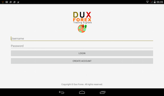 Dux Forex Notifer- screenshot thumbnail