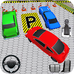 Hard Car Parking Drive Game Icon
