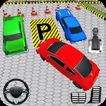 Hard Car Parking Drive Game Icon
