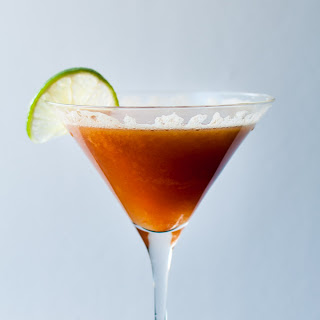 Refreshing Persimmon Cocktail