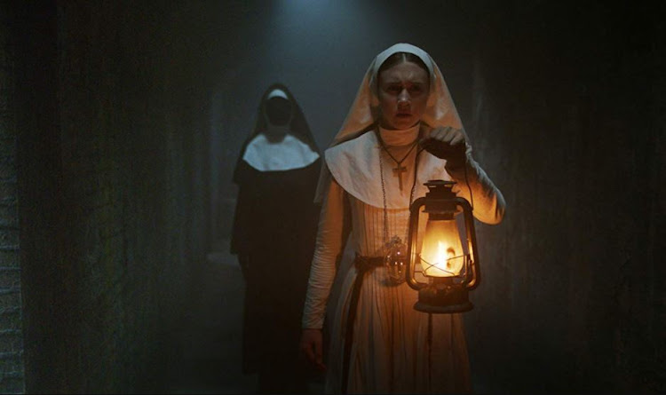 A scene from the 2018 horror movie 'The Nun'.