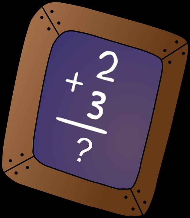 Chalkboard, Math Problem ...