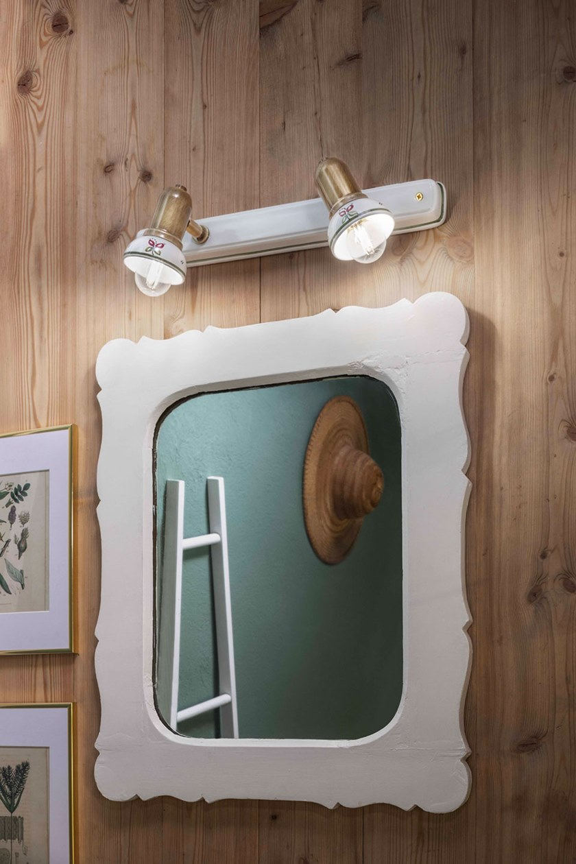 lampade da parete per lo specchio del bagno classico