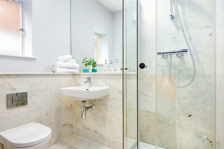 Bathroom at Cleveland Residences Fitzrovia Serviced Apartments