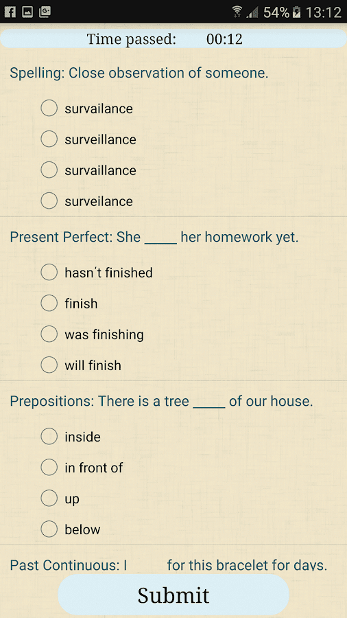 Please check my English answers 10 points?