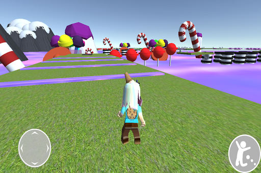 Obby cookie swirl Rblx's candy land android2mod screenshots 7