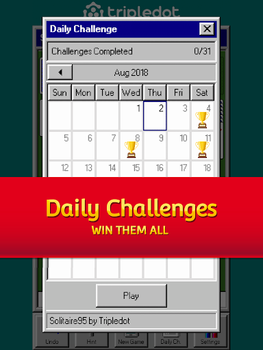 Solitaire 95 - The classic Solitaire card game filehippodl screenshot 8