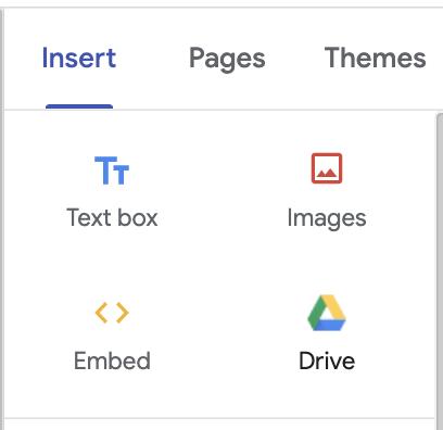 Google Drive Insert