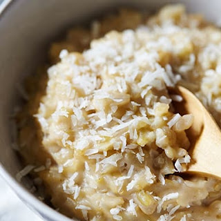 Creamy Coconut Brown Rice Pudding.