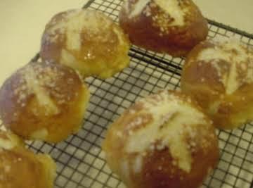 Mike's signature pretzel bread