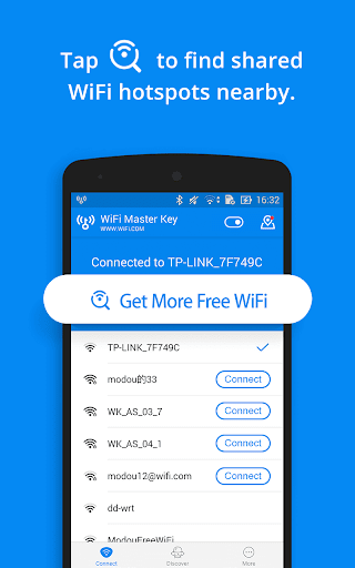 WiFi Master Key - by wifi.com 4.5.78 screenshots 2