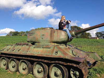 Tank in Eastern Germany | Krys Kolumbus Travel