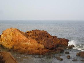 Photo: The coast at Toubab Dialaw