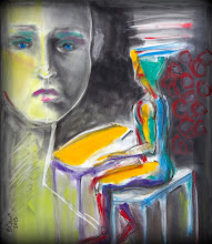"""Photo: Untitled, Brenda Clews, 18"""" x 21"""", charcoal and pastels on Strathmore 80lb drawing paper."""