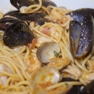 Pasta With Mixed Seafood