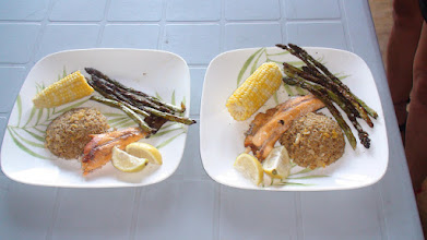 Photo: Wild Trout and Wild Asparagus Plate 1