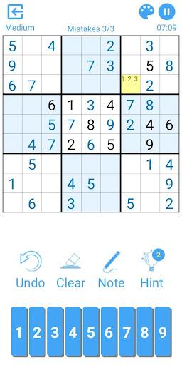 Sudoku 2.3.3.1 screenshots 3