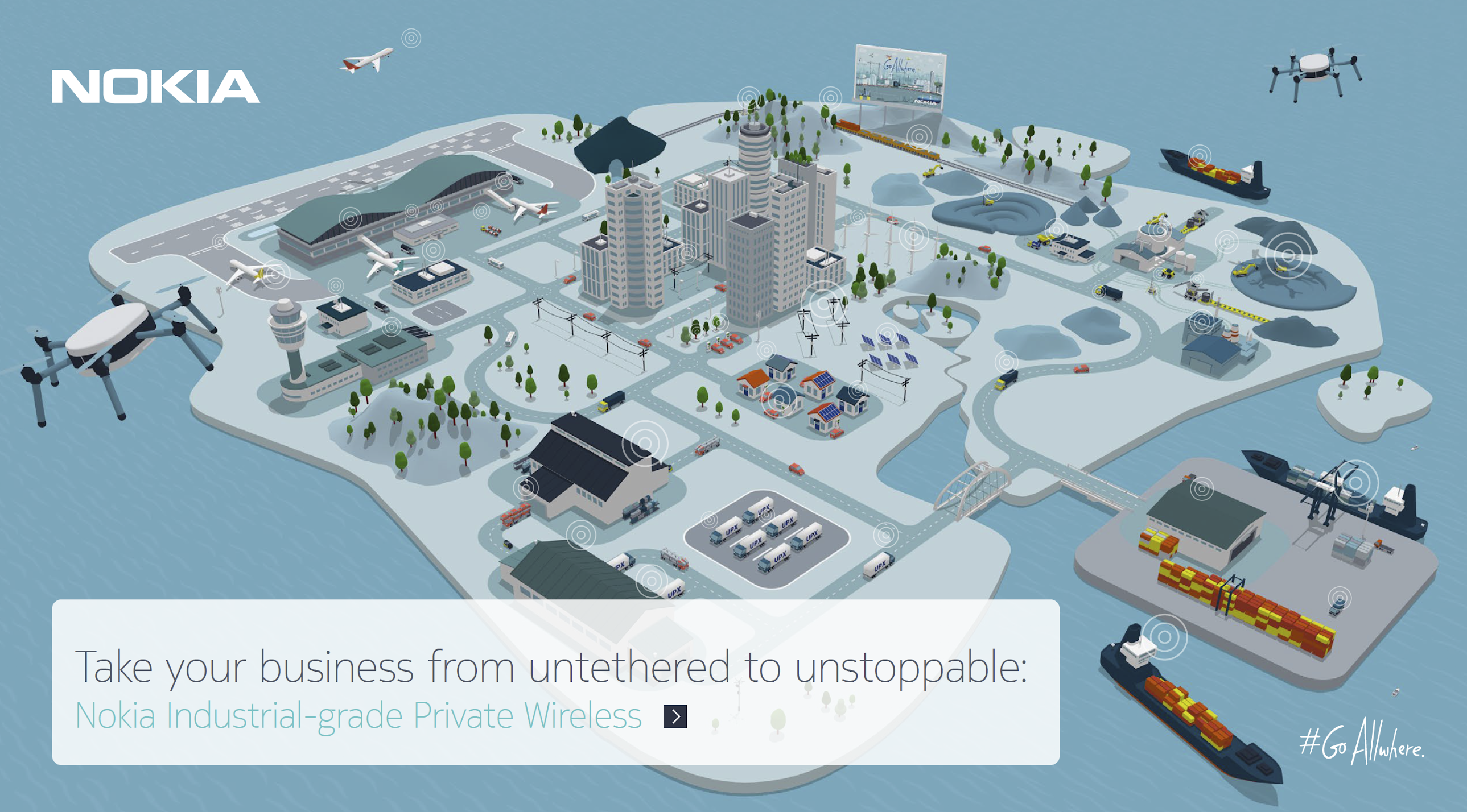 Nokia 5G-ready Industrial-grade Private Wireless Use Cases