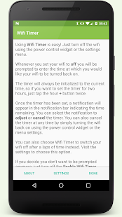 Wi-Fi Timer- screenshot thumbnail