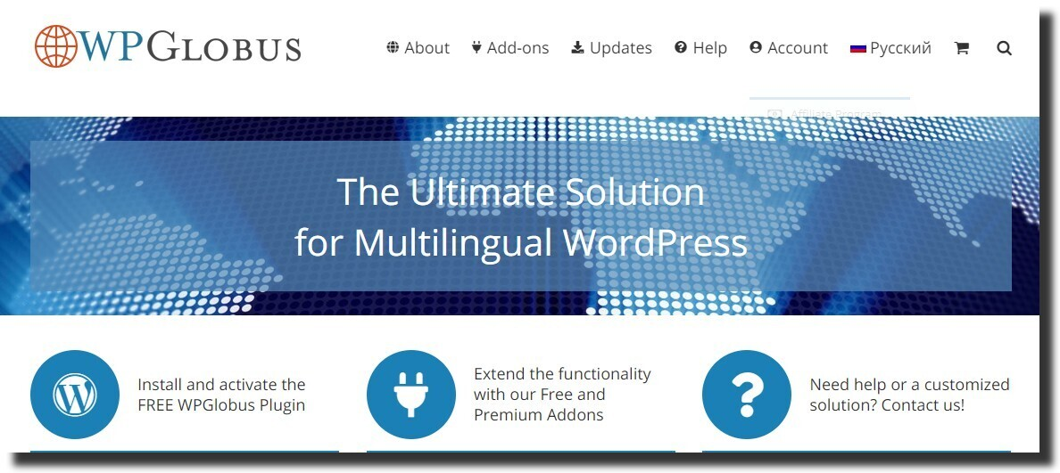 WPGlobus best free wordpress plugins