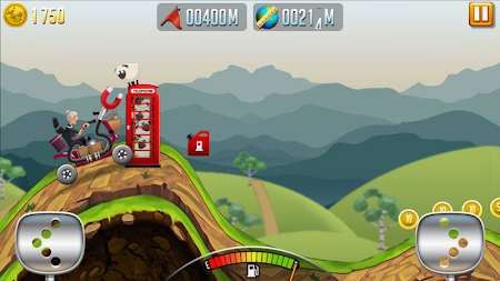 Angry Granny: Racing Car APK screenshot thumbnail 4