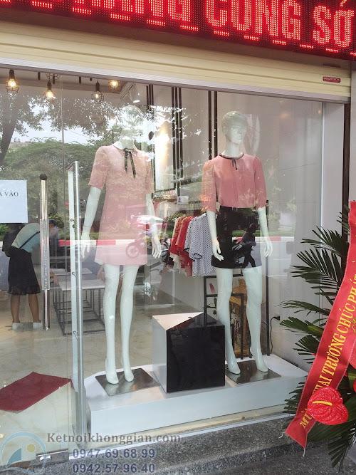 thiết kế nội thất shop thời trang chuyên nghiệp